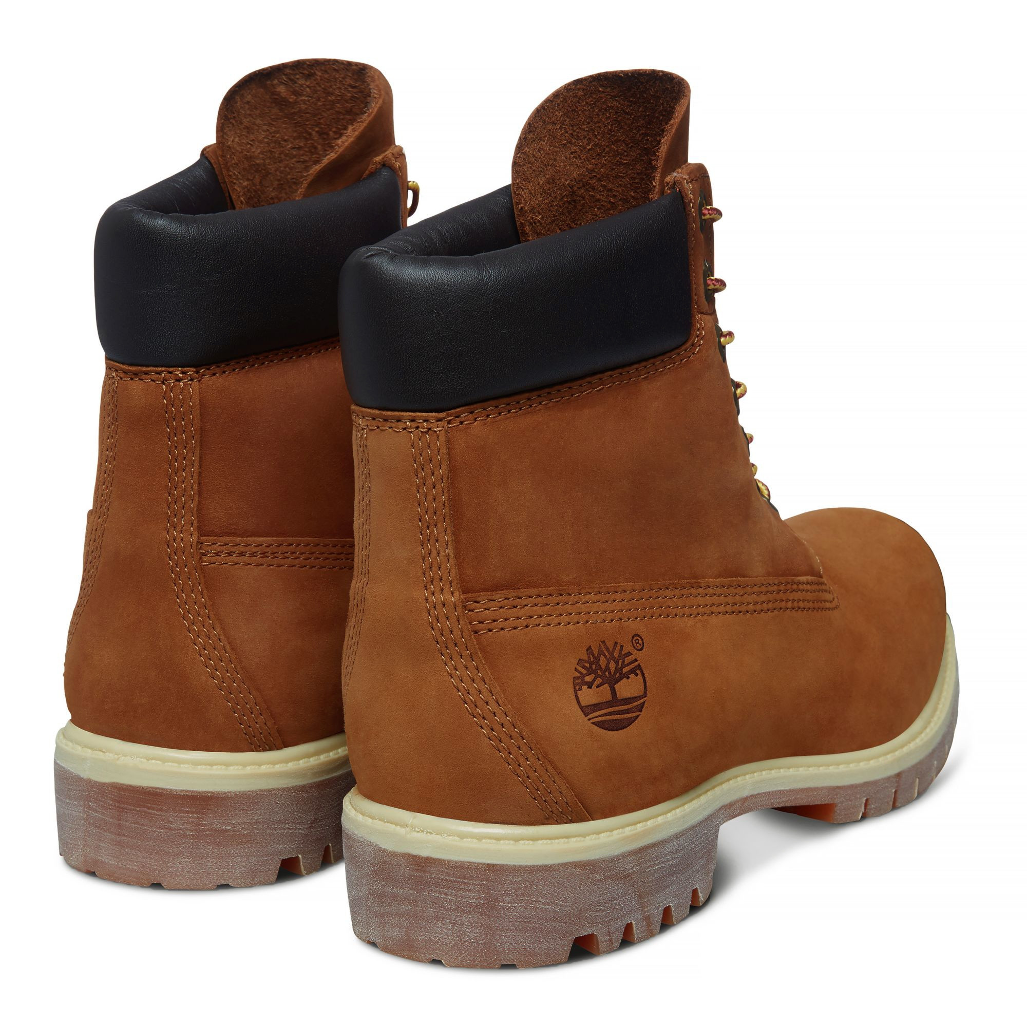 904f6668297 Timberland Mens Premium 6 Inch Leather High Boots Boots Rust Orange ...