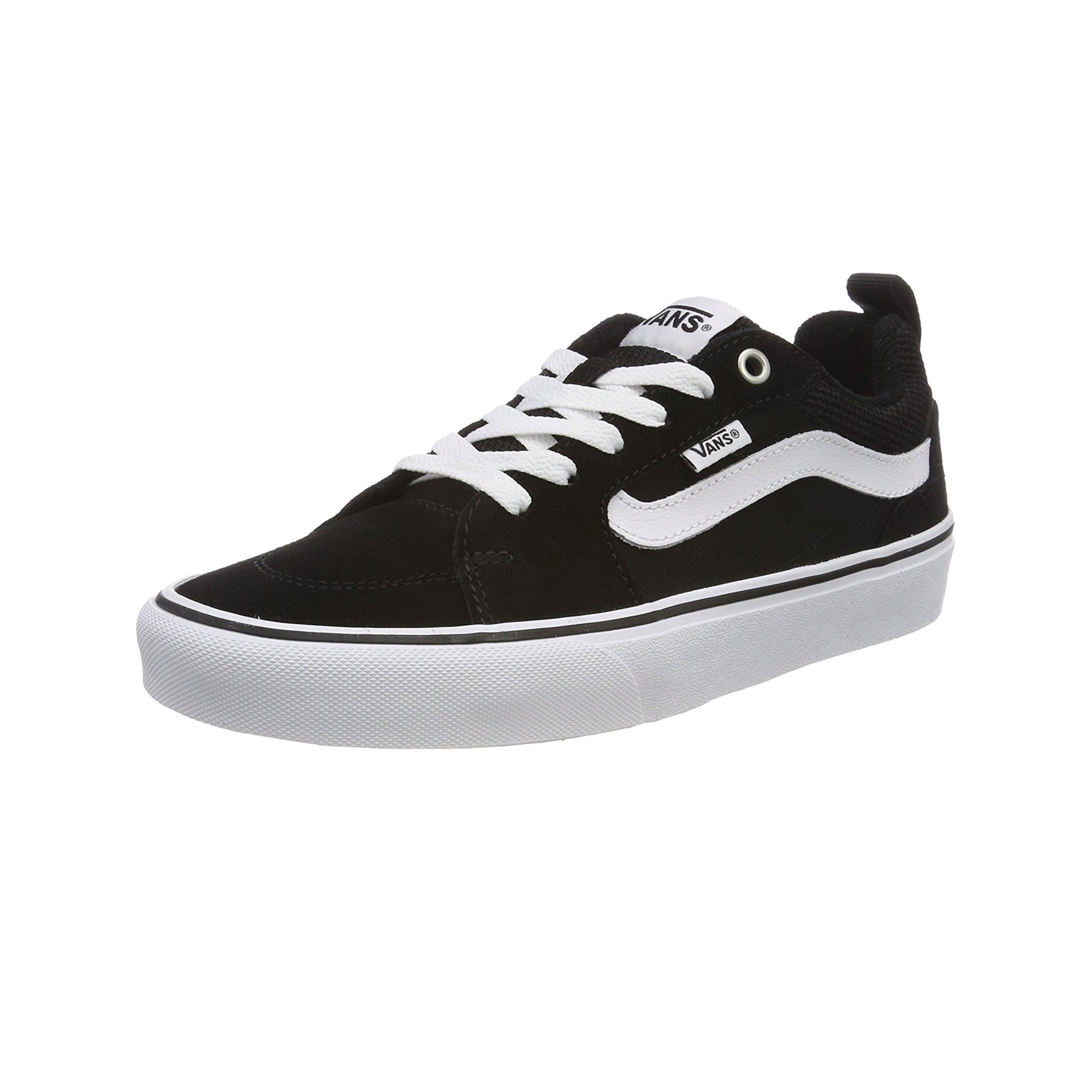 8249b3d971 Vans Men s Filmore Suede Shoes Black White