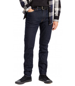 Levis 512 Denim Jeans Dark Blue Rock Cod | Jean Scene
