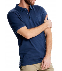 Only & Sons Stan Polo Shirt Short Sleeve Ensign Blue | Jean Scene