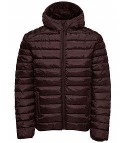 Only & Sons Puffer Liner Quilt Jacket Fudge | Jean Scene