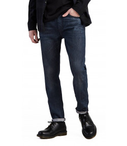 Levis 512 Denim Jeans Dark Blue Headed South | Jean Scene