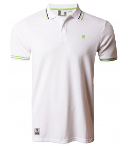 Fenchurch Men's Blackwall Polo Shirt Optic White