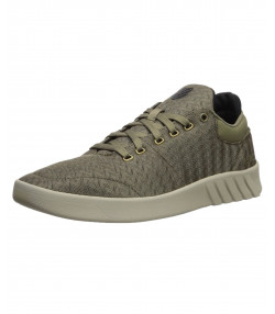K-Swiss Men's Aero Lightweight Mesh Gym Shoes Trainers Green/Rain | Jean Scene