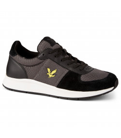 Lyle & Scott Men's Speedie Casual Trainers Trainers True Black/Urban | Jean Scene