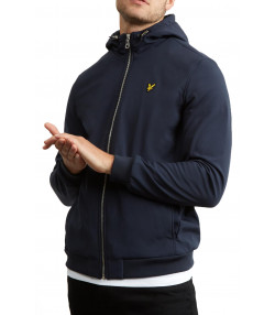 Lyle & Scott Men's Hooded Softshell Jacket Dark Navy | Jean Scene