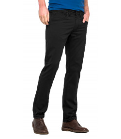 Lee Daren Zip Regular Slim Anthracite Chino Jeans | Jean Scene