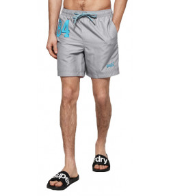 Superdry Water Polo Men's Shorts Platinum Grit | Jean Scene