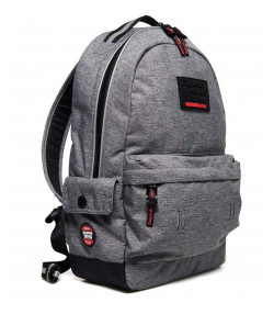 Superdry Hollow Montana Backpack Bag Light Grey Marl | Jean Scene