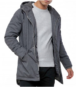 2nd Chapter Men's Casual Jacket Grey Marl | Jean Scene