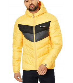 Ellesse Padded Ginap Short Jacket Yellow | Jean Scene